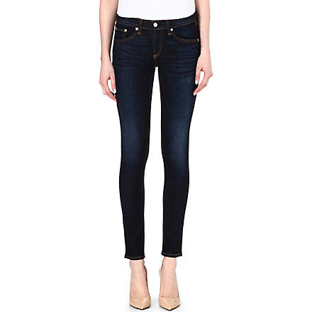 RAG & BONE Core Kensington skinny low-rise jeans (Kensington