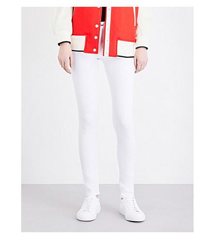 RAG & BONE JEAN skinny mid-rise jeans (Bright+white
