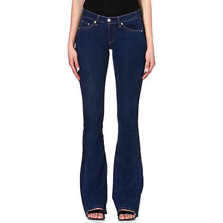 RAG & BONE The Bell stretch-denim jeans (Cypress