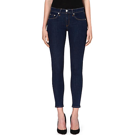 RAG & BONE The Capri stretch-denim jeans (Cypress