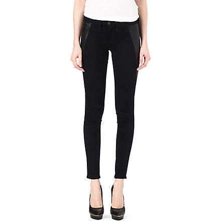 RAG & BONE Pop legging skinny mid-rise jeans (Midnight
