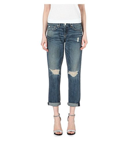 RAG & BONE Moss boyfriend mid-rise jeans (Buckley