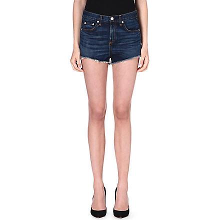 RAG & BONE Mila high rise shorts (Doheny