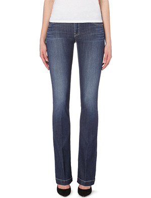 ARMANI JEANS Baby flare stretch-denim jeans