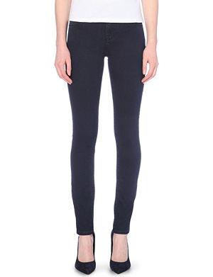 ARMANI JEANS Skinny high-rise jeans