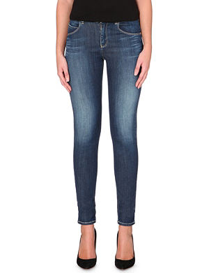 ARMANI JEANS High-rise skinny jeans