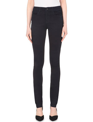 ARMANI JEANS Slim-fit high-rise jeans