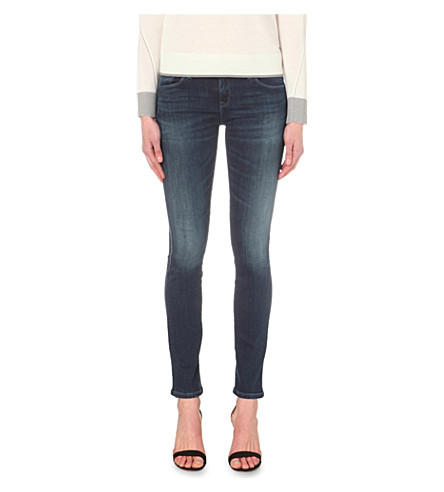 ARMANI JEANS Lily skinny mid-rise jeans (Denim