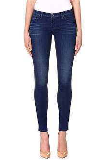 ARMANI JEANS Skinny low-rise jeans