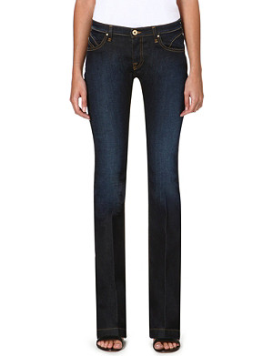 ARMANI JEANS Baby Bootcut mid-rise jeans