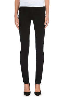 ARMANI JEANS Slim high-rise stretch-denim jeans