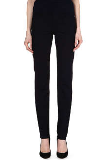 ARMANI JEANS Skinny high-rise jeans
