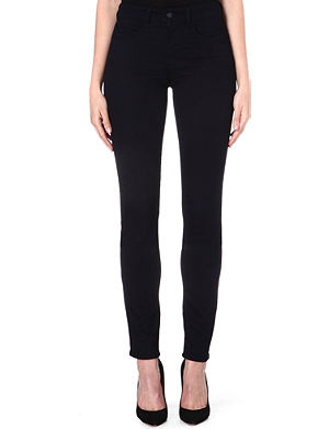 ARMANI JEANS Power-stretch skinny high-rise jeans