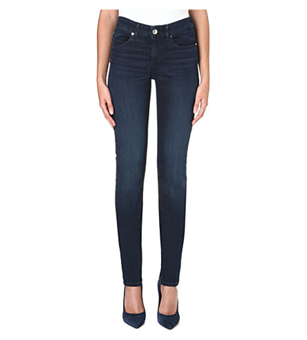 ARMANI JEANS High-rise skinny jeans (Blue