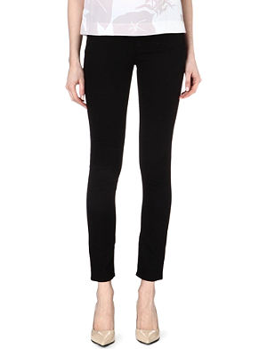 ARMANI JEANS Skinny mid-rise jeans