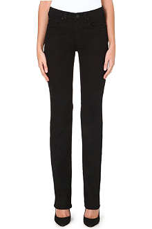 ARMANI JEANS Straight high-rise jeans
