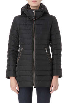 ARMANI JEANS Semi-shine padded jacket