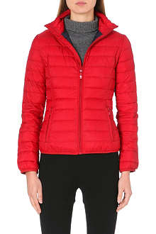 ARMANI JEANS Zip-up quilted jacket
