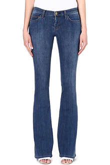 CURRENT/ELLIOTT Low Bell slim-fit mid-rise jeans