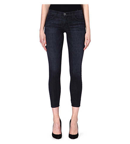 CURRENT/ELLIOTT The Stiletto skinny mid-rise jeans (Reckless