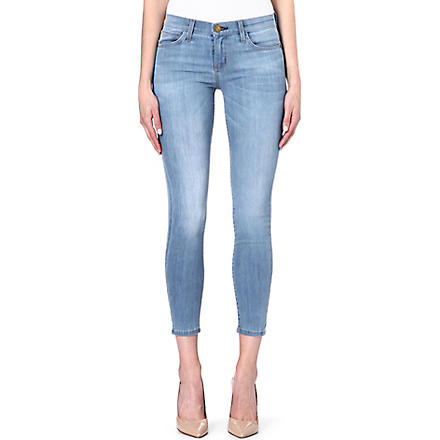 CURRENT/ELLIOTT The Stiletto skinny mid-rise jeans (Sterling