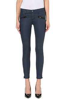 CURRENT/ELLIOTT The Soho Stiletto skinny stretch-denim jeans