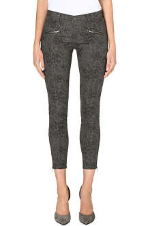 CURRENT/ELLIOTT The Soho zip stiletto skinny jeans