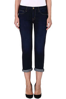 CURRENT/ELLIOTT The Boyfriend low-rise jeans
