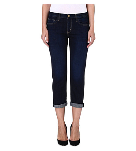 CURRENT/ELLIOTT The Boyfriend low-rise jeans (Jackson