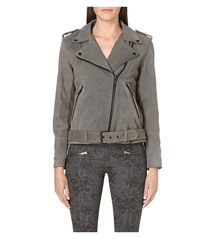 CURRENT/ELLIOTT The Prospect biker jacket (Castle