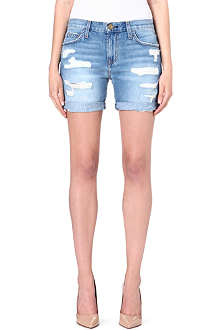 CURRENT/ELLIOTT The Slouchy cut-off denims shorts