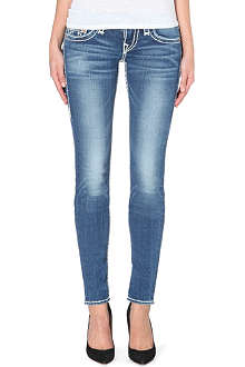 TRUE RELIGION Stella Super-T super-skinny low-rise jeans