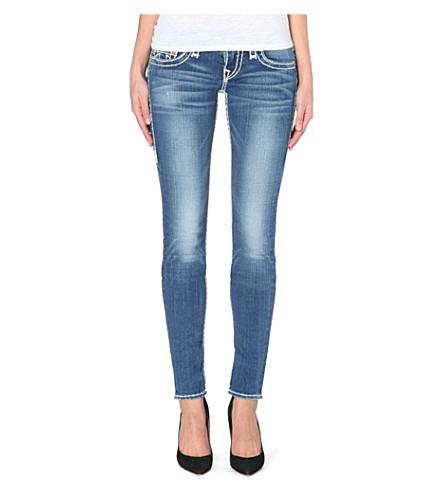 true religion stella super t super skinny low rise jeans. Black Bedroom Furniture Sets. Home Design Ideas