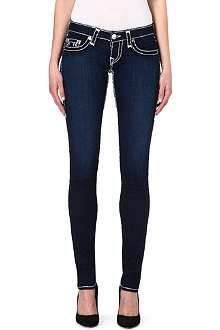 TRUE RELIGION Stella Super T skinny low-rise jeans