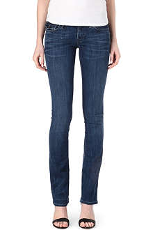 TRUE RELIGION Billy straight-leg low-rise jeans