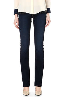 TRUE RELIGION Johnny Super slim bootcut mid-rise jeans