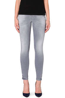 TRUE RELIGION Chrissy cropped mid-rise skinny jeans
