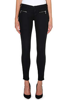 TRUE RELIGION Slim-fit coated skinny jeans