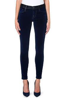 TRUE RELIGION Abbey skinny mid-rise jeans