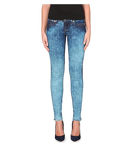 True Religion Acid Wash Jeans Mens True Religion Acid-wash Skinny
