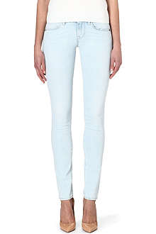TRUE RELIGION Shannon skinny low-rise jeans