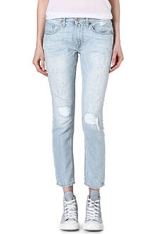 TRUE RELIGION Grace low-rise boyfriend jeans