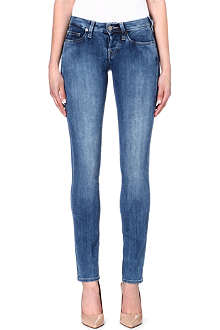 TRUE RELIGION Kayla straight slim-fit mid-rise jeans