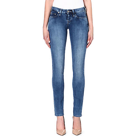 TRUE RELIGION Kayla straight slim-fit mid-rise jeans (Radian