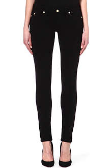 TRUE RELIGION Misty skinny low-rise skinny jeans