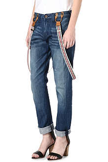 TRUE RELIGION Madison boyfriend mid-rise jeans
