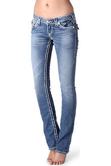 TRUE RELIGION Billy straight low-rise jeans