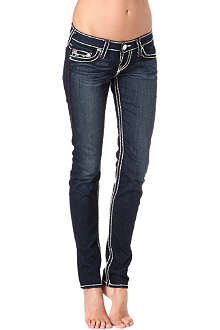 TRUE RELIGION Stella Super-T skinny low-rise jeans