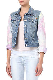 TRUE RELIGION Emily Galaxy denim jacket