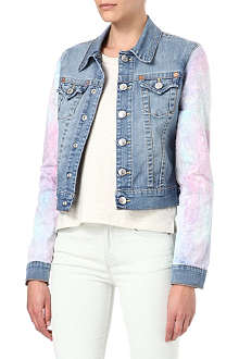 TRUE RELIGION Emily Hawaii denim jacket